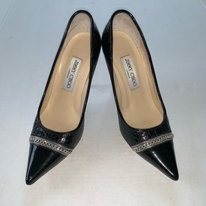 Jimmy Choo Classic Patent Leather Heels